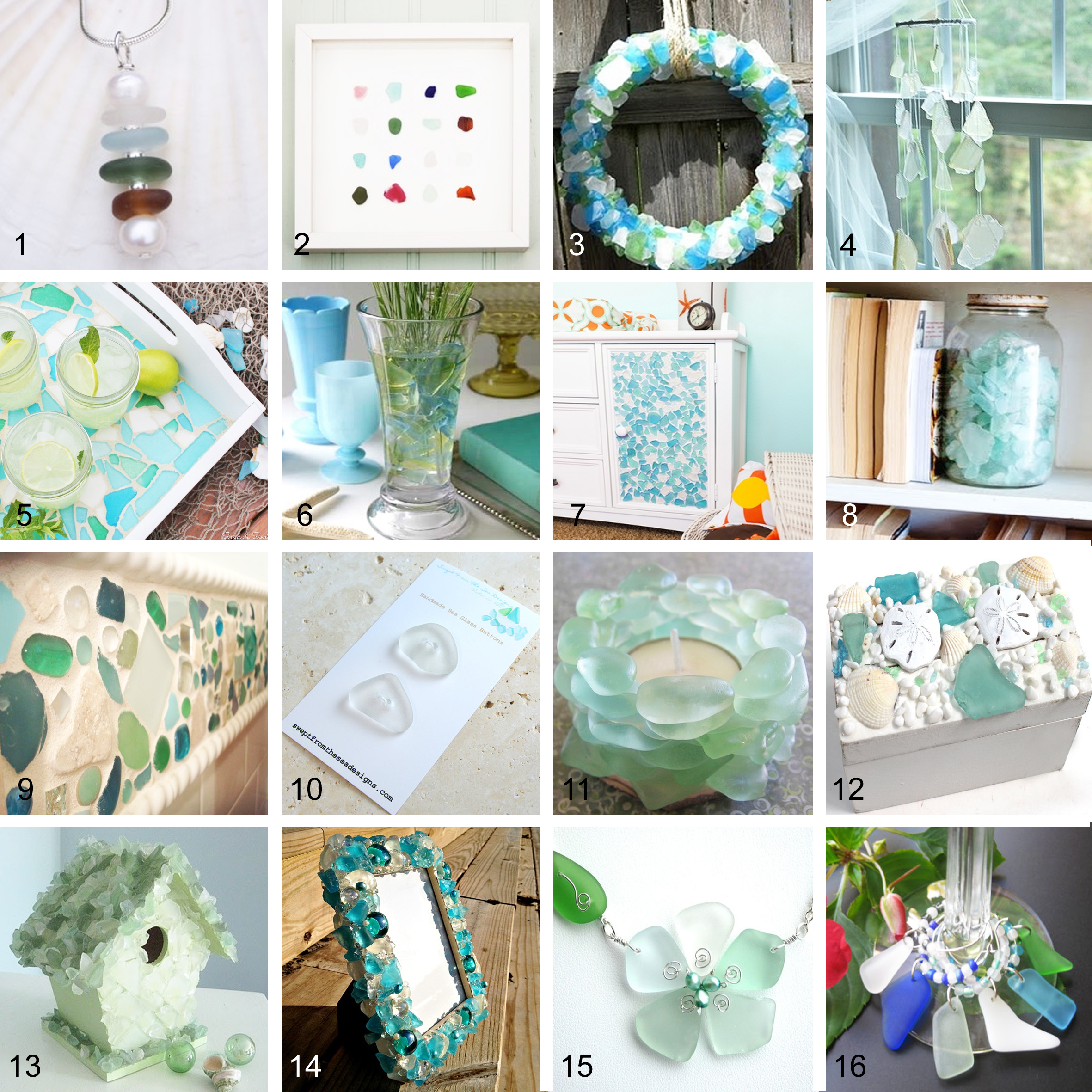 What to make with Sea Glass