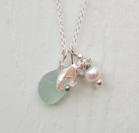 sea glass pendant 1