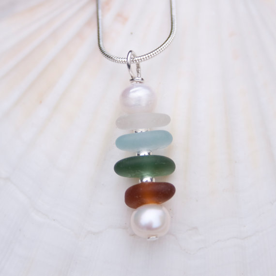 sea glass pendant 5