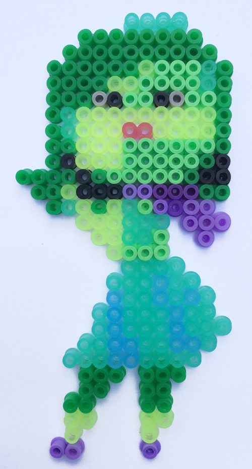 Disney Inside Out Hama Perler Bead patterns Disgust 2