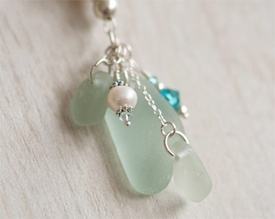 Large Sea Glass Pendant