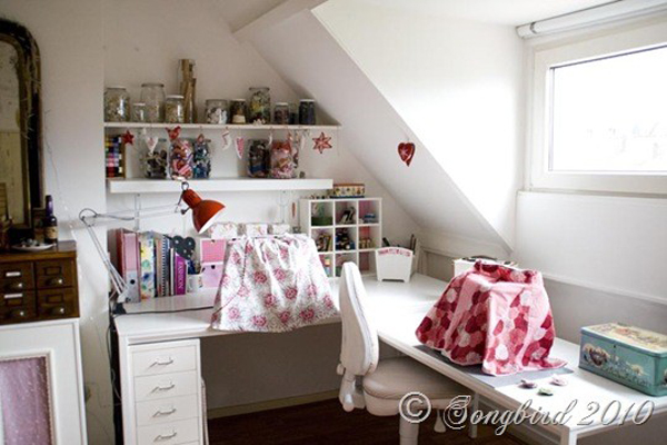 attic sewing room ideas - craft room inspiration 6 Driftwood Dreaming