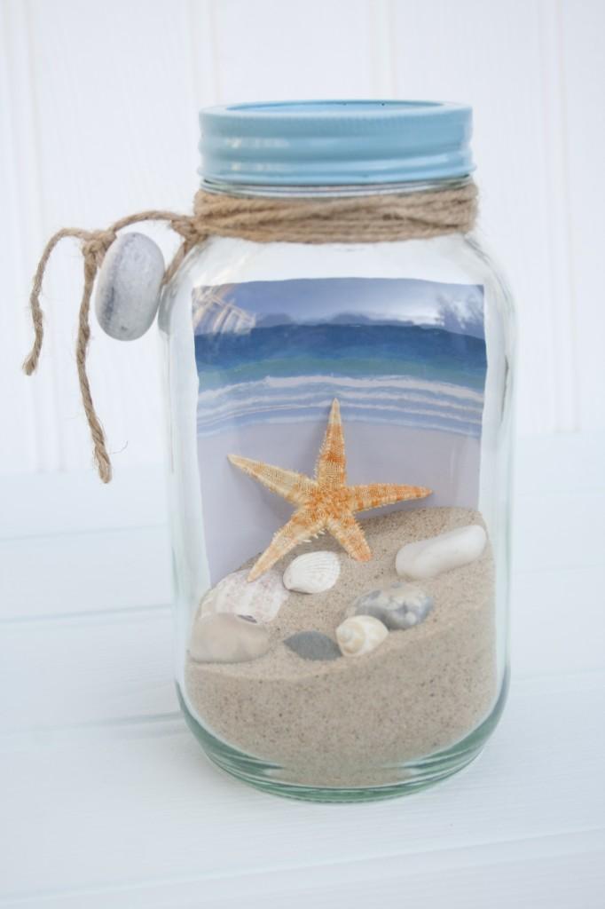 Beach In A Jar Large Driftwood Dreaming