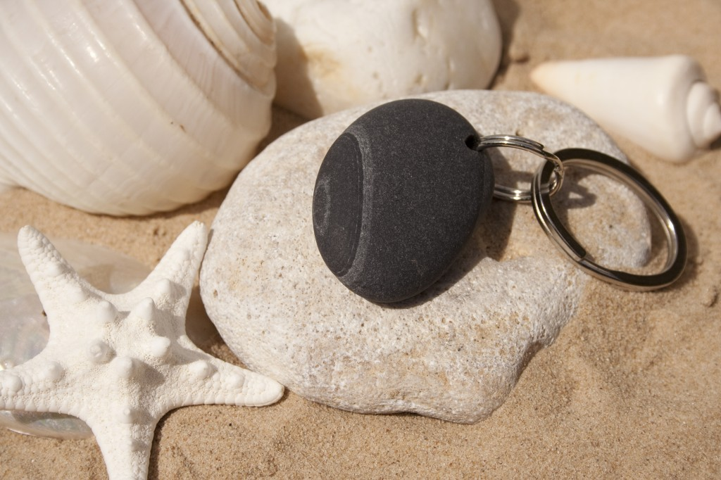 Pebble Keyring 15
