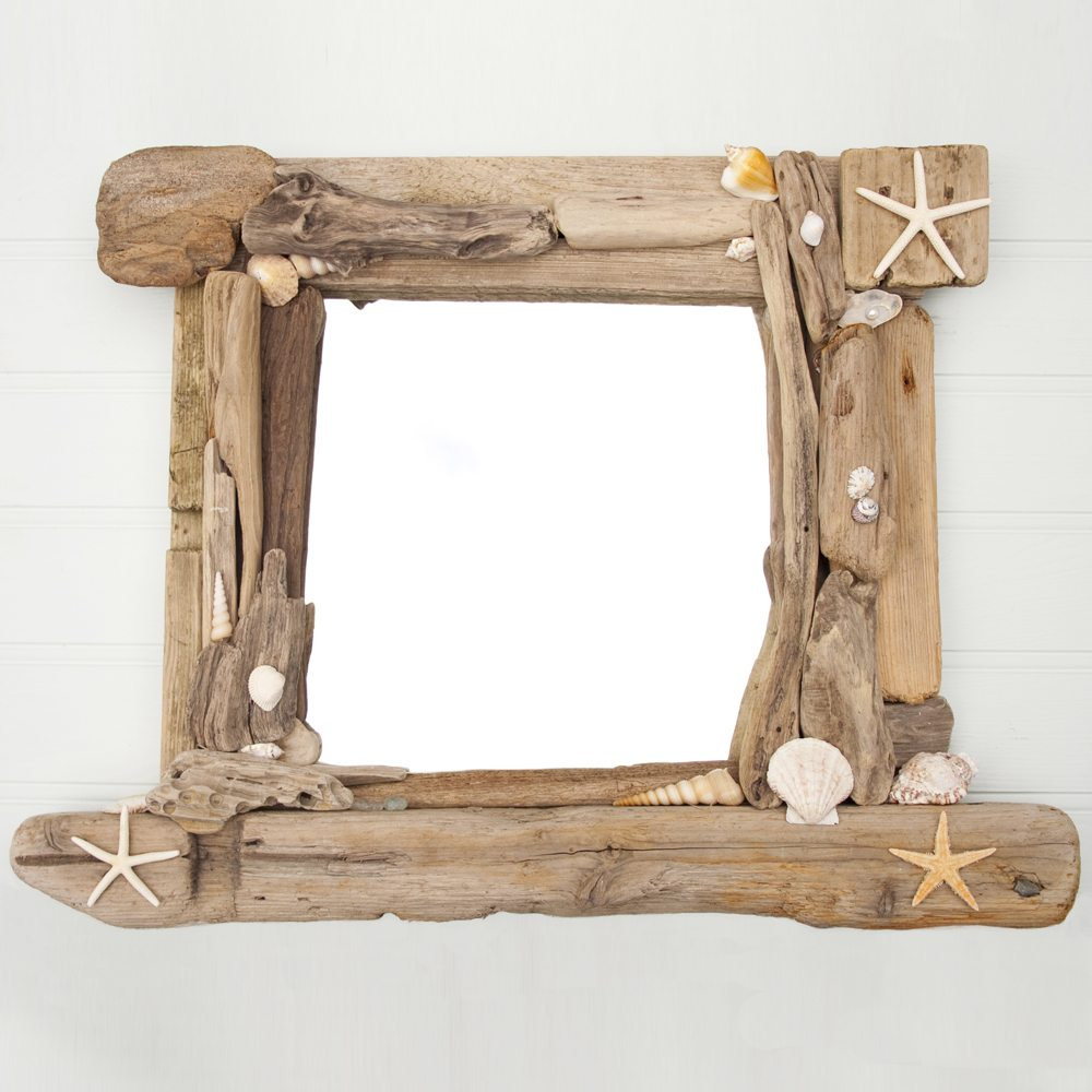 Wall Mirror wall mirrors for hallway : Driftwood Mirror - Driftwood Dreaming