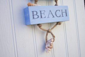 Coastal Beach House Sign