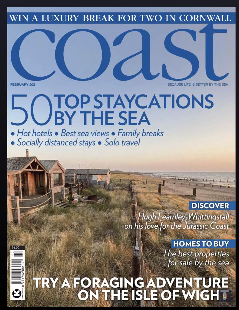 Coat magazine